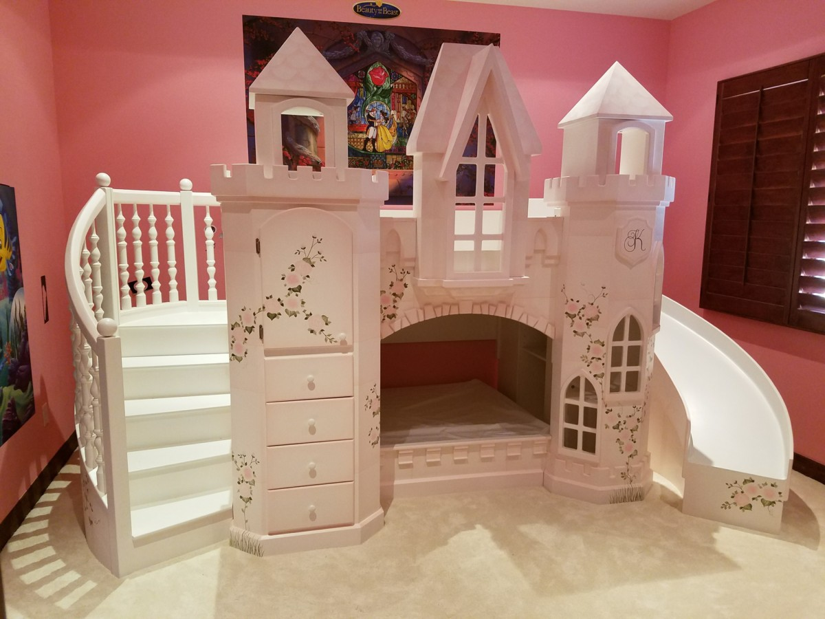 castle vicari bunk bed themed beds by tanglewood design. Black Bedroom Furniture Sets. Home Design Ideas
