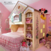 Dollhouse Bunk Bed - Interior Design by Sheila Rich Interiors, LLC - www.sheilarichinteriors.com - photography by Peter Rymid