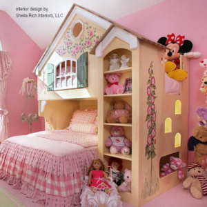 Cottage / Dollhouse Style Bunk Beds
