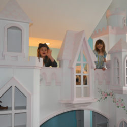Braun Castle Bunk Bed with Princesses