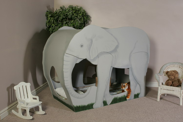 Elephant Bunk Bed Custom Designed By Tanglewood