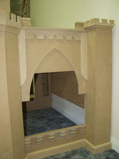 Ride Side Panel of Norwich Castle Bunk Bed