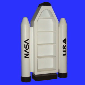 Space Shuttle Bookcase