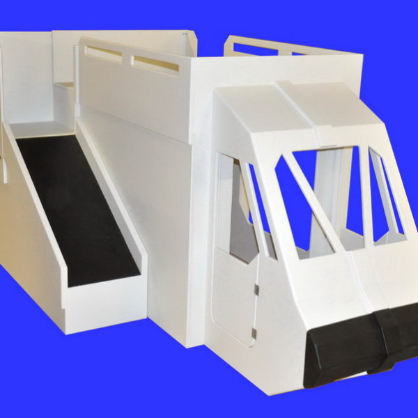 Shuttle Bunk Bed w/ Slide