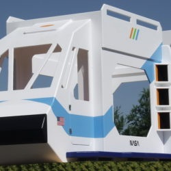 Shuttle Bunk Bed w/hand painting