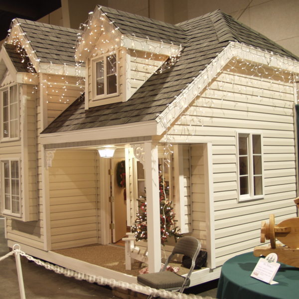 Cottage Playhouse Side View