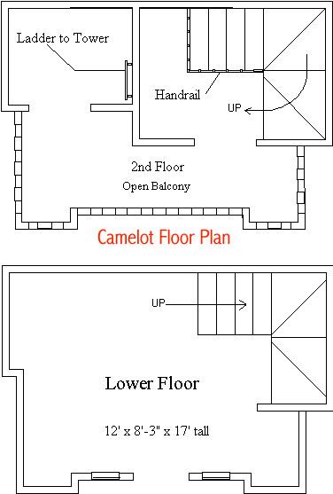 Camelot Playhouse Floor Plan
