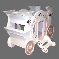 Cinderella Princess Carriage Bunk Bed