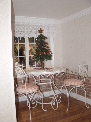 Cottage Playhouse Dining Area