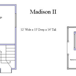 Madison II Playhouse Floor Plan