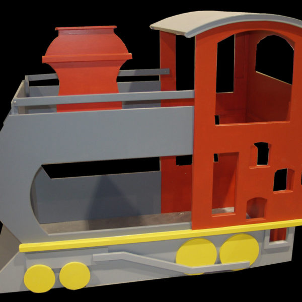 Red Train Bunk Bed