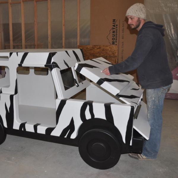 Safari Jeep Bed Hood