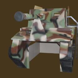 Army Tank Bunk w' Desk