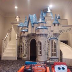 Miniature Castle Playhouse