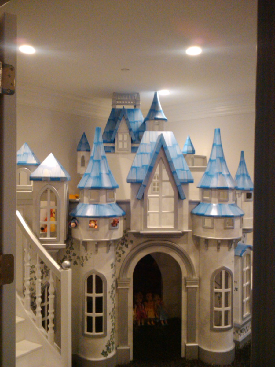 Big Indoor Playhouse Wizard Of Oz Castle Indoor Playhouse