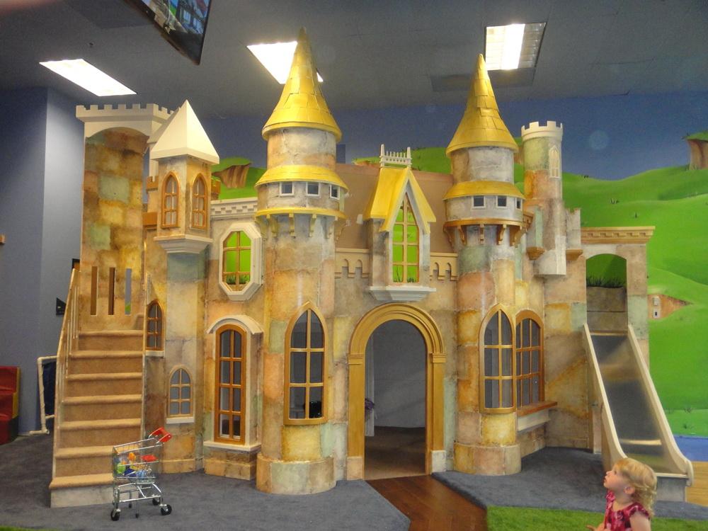 Big Indoor Playhouse Wizard Of Oz Castle Indoor Playhouse