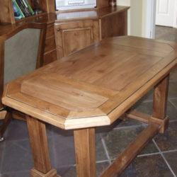 Knotty Alder Desk for Study