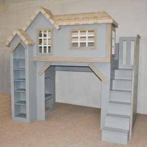 Spanky's Clubhouse Bunkbed with Staircase
