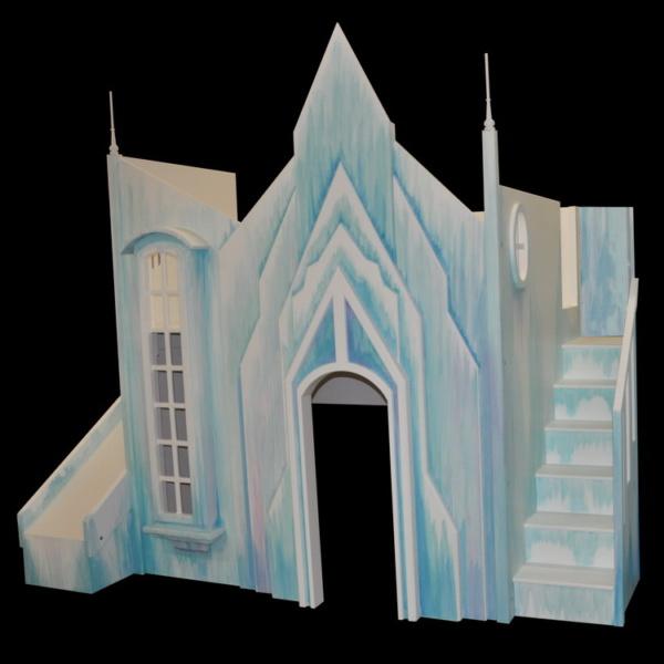 Frozen Ice Castle Bunk Bed