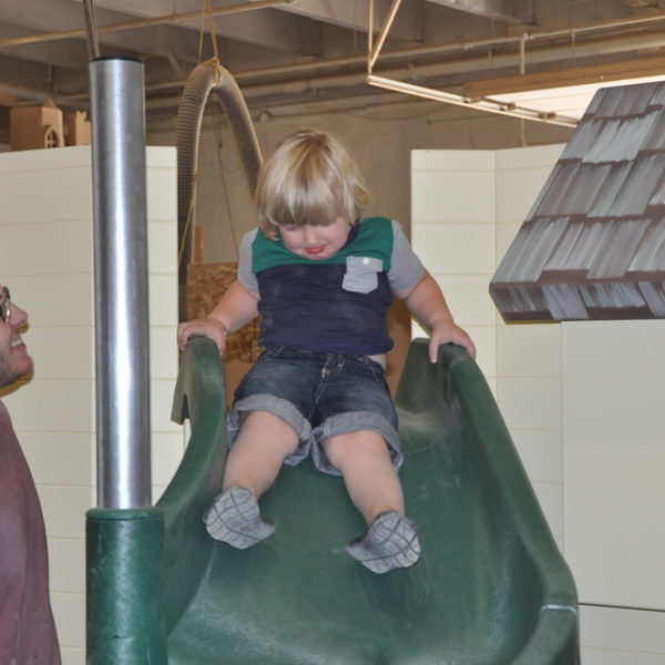The Dailey Playhouse Slide