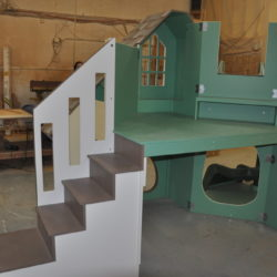 The Dailey Playhouse Staircase to Loft