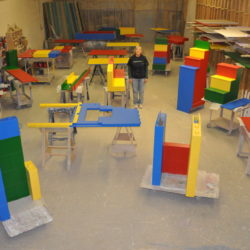 Building Block Bed / Playhouse Deconstructed