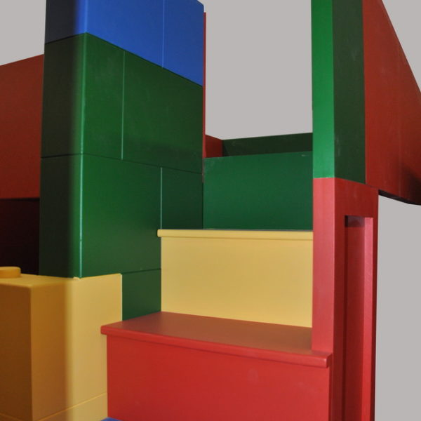 Building Block Bed / Playhouse Staircase
