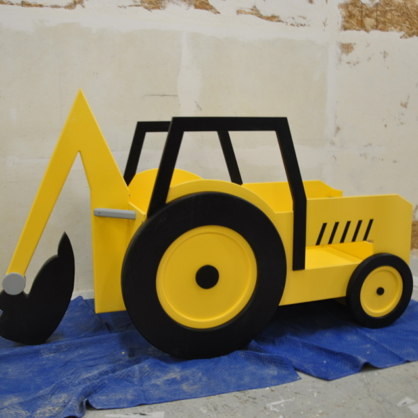 Backhoe Bed