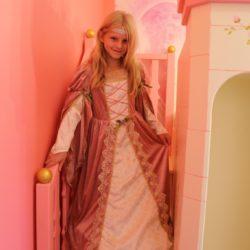 Princess Arwen on her castle.