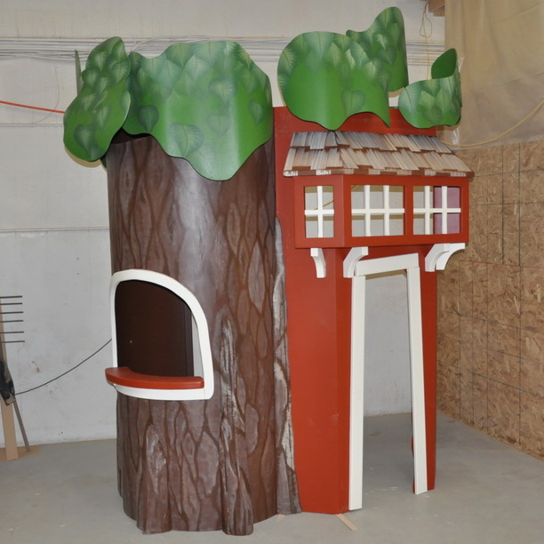 Treehouse Reading Nook Playhouse