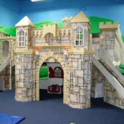 A Merlin's Castle Located at Kid Ventures in San Diego, California.