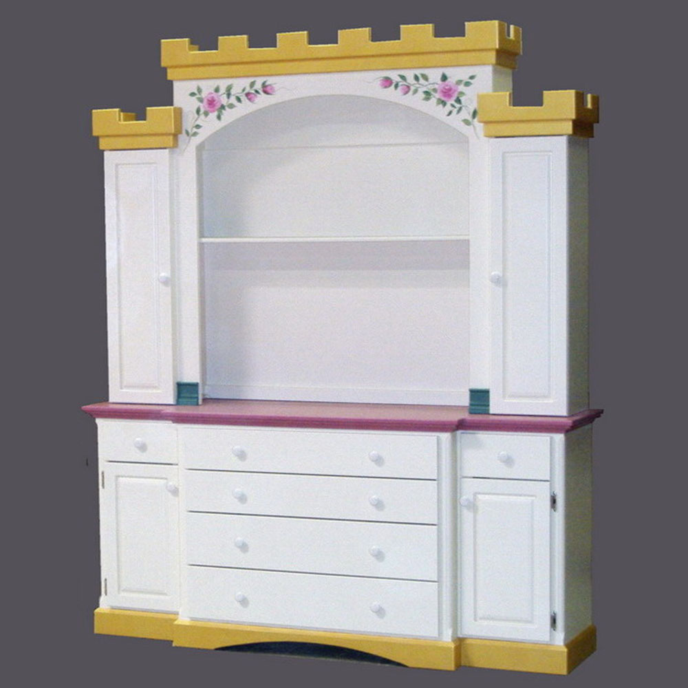 Queen Anne Castle Dresser