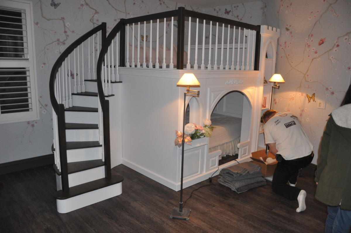 Rockabye Castle Bed