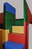 Building Block Bed and Playhouse