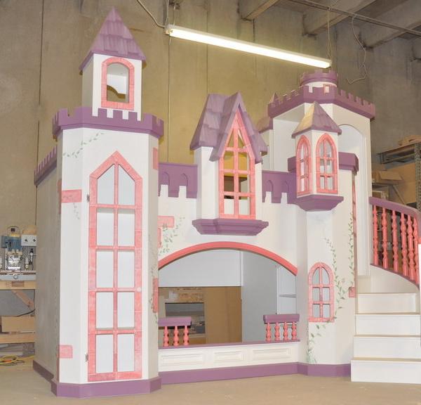 Pink and Purple Princess Castle.