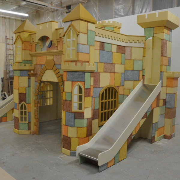 Large Castle Indoor Playhouse