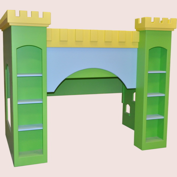 Leeds Castle Bunk Bed - Base Painted - Your Choice of Colors