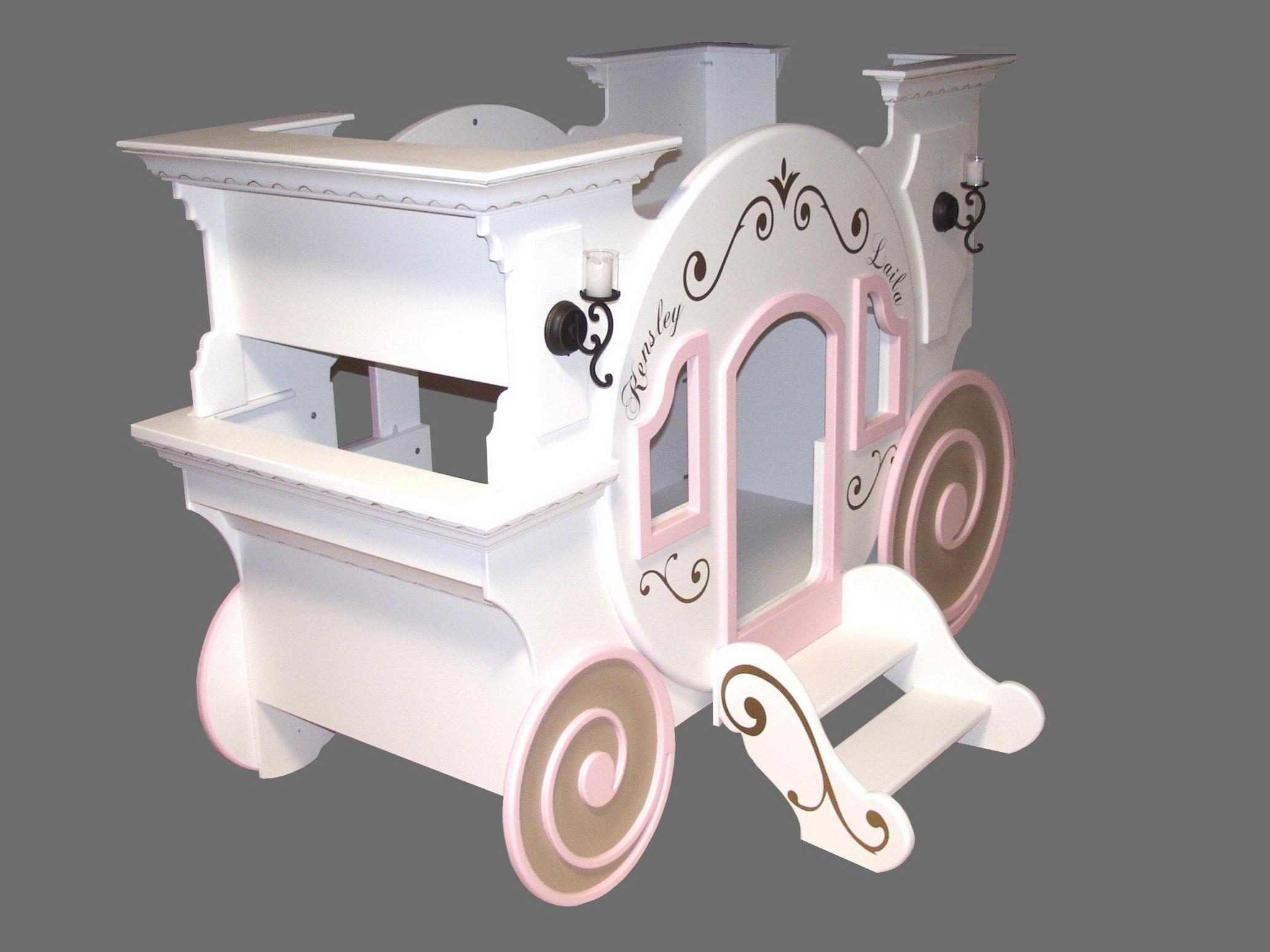 Blueprints for the Cinderella Princess Carriage Bunk Bed ...