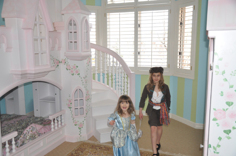 Braun Castle Bunk Bed A Perfect Princess Castle Bed For Your Home