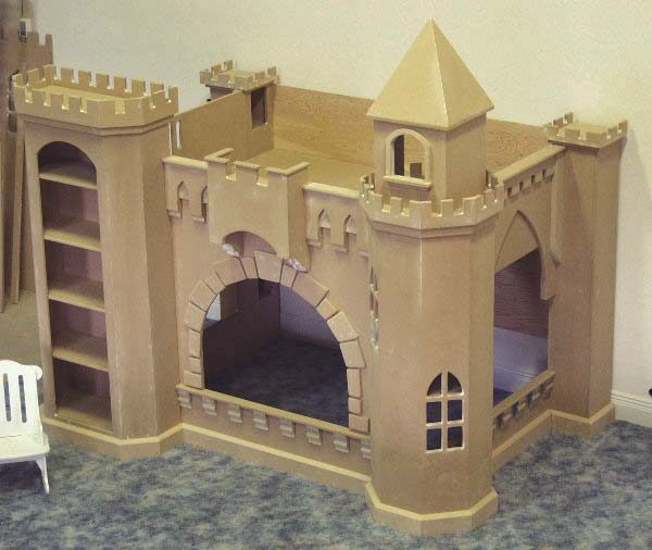 Completed model - unpainted
