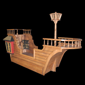 Pirate Ship Beds & Playhouses