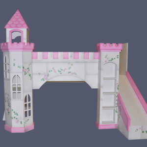 Cottage playhouse blueprints designed by tanglewood design for Princess bed blueprints