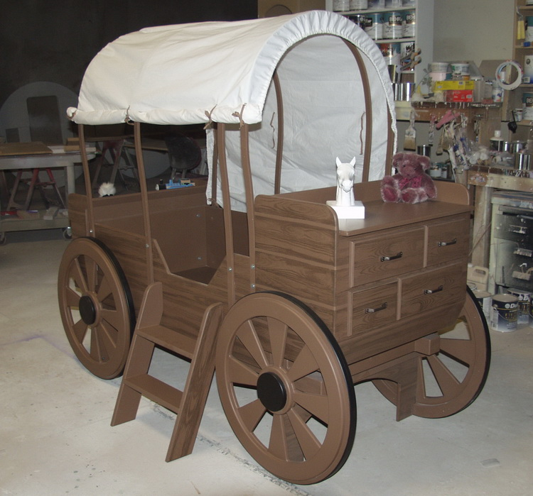 Chuck Wagon Childrens Bed
