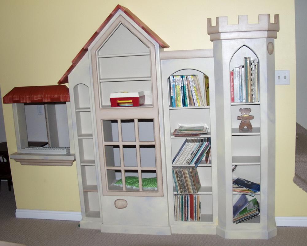 Perceval Castle Bookcase