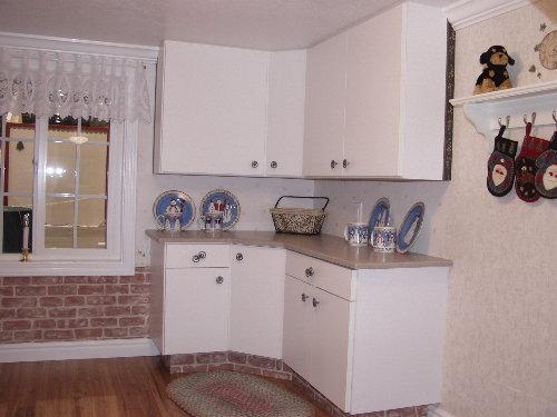 Cottage Playhouse Custom Cabinets