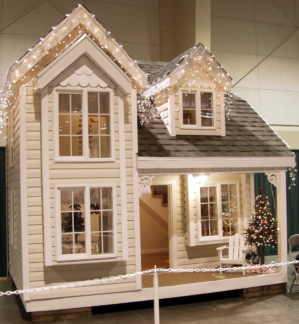 Cottage playhouse blueprints designed by tanglewood design - Free cottage house plans image ...