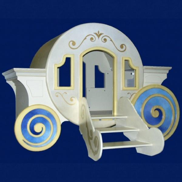 Cinderella Carriage Bed