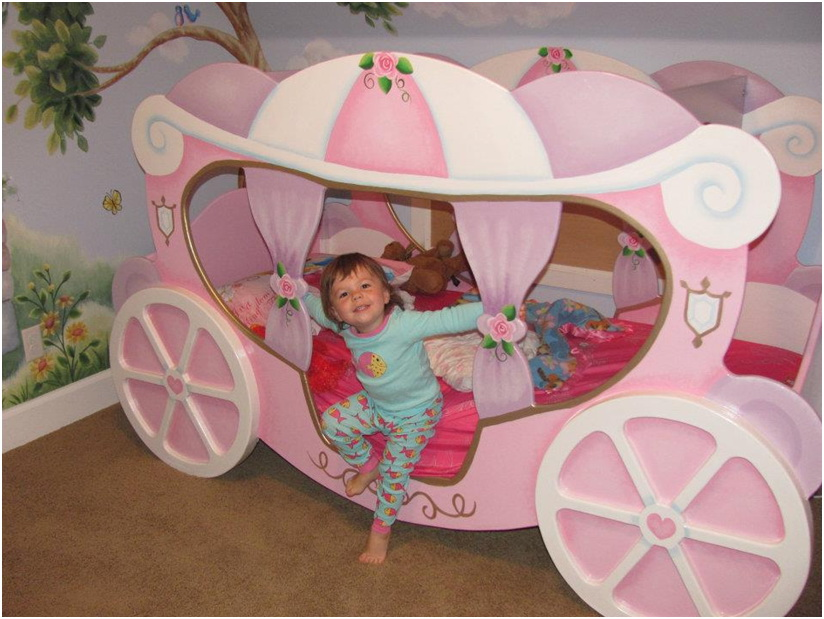 Nice Princess Carriage Bed