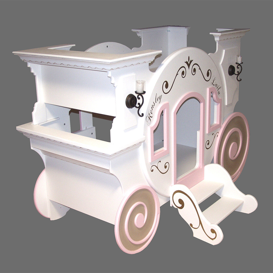 Cinderella Carriage Bunk Bed By Tanglewood Design