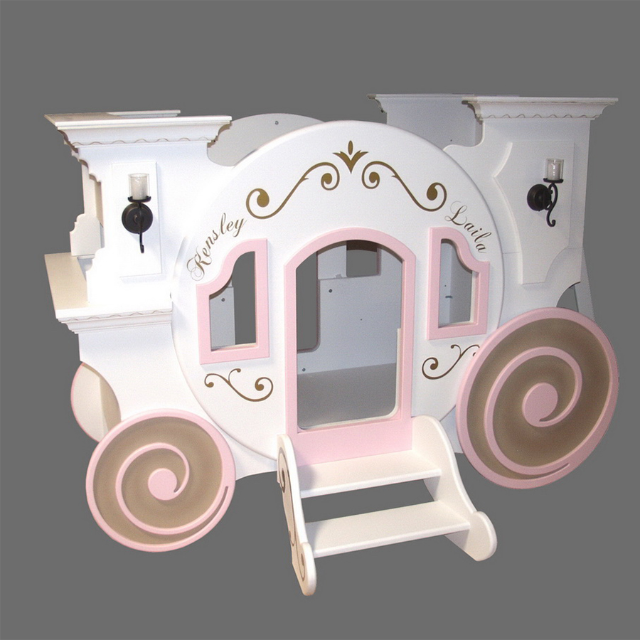 Cinderella Carriage Bunk Bed